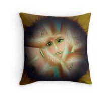 Power Flower Power Throw Pillow