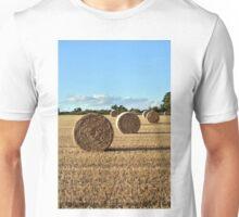 Harvest Time - Barley Bales Unisex T-Shirt