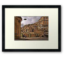 Revision Papers ---- Valletta Malta Framed Print