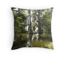 Birdhouse - Lake Martin, LA Throw Pillow