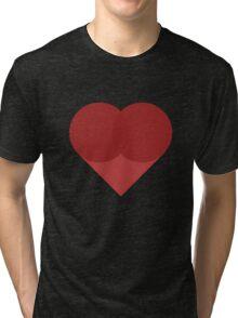 All You Need Is Art - love heart valentine fun cute romance Tri-blend T-Shirt