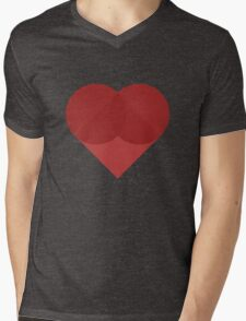 All You Need Is Art - love heart valentine fun cute romance Mens V-Neck T-Shirt