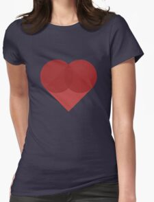 All You Need Is Art - love heart valentine fun cute romance Womens Fitted T-Shirt