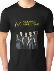 Mallard Massacre Band Merch Unisex T-Shirt