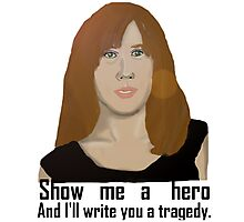 Donna Noble: A Tragic Hero Photographic Print