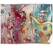 """Surreal Owl I"" Poster"