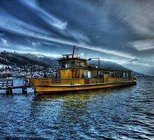 Winter Ferry by Luke Griffin