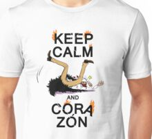 KEEP CALM AND CORAZON Unisex T-Shirt