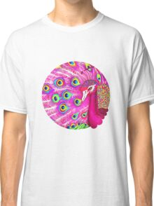Pink peacock Classic T-Shirt