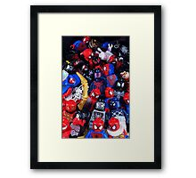 The LEGO Spider-Verse Framed Print