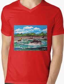 Wild (Sea) Horses...... Mens V-Neck T-Shirt