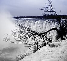 Niagara Fall during winter by Melinda Watson