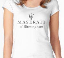 Maserati of Birmingham Women's Fitted Scoop T-Shirt