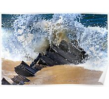 Somerset Wreck Cape Cod Poster