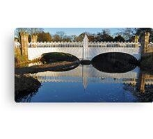 Tournament Bridge Eglinton Park ,Kilwinning Canvas Print