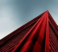 'Red & Blue' John Hancock Building, Chicago Photography by LiveVintage
