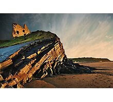 Evening Glow - Ballybunion Photographic Print