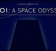 2001: A Space Odyssey  by JohnnyRedshift