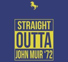 Straight Outta John Muir '72 Blue  by Samuel Sheats