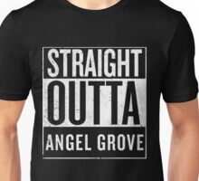 Straight Outta Angel Grove Unisex T-Shirt