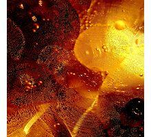 Oil bubbles Photographic Print