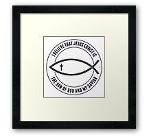 Christian Believers Framed Print
