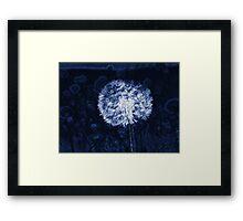 Dandelion Lines Framed Print