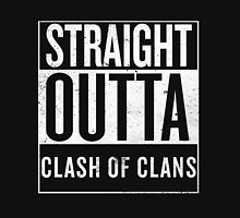 Straight Outta Clash of Clans Unisex T-Shirt