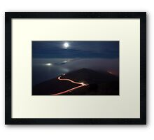 The Night Moves Framed Print