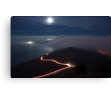 The Night Moves Canvas Print