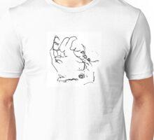 Hand- A Blind Gesture Unisex T-Shirt