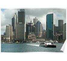 Sydney's Circular Quay Poster