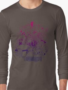 Hey let's shout Long Sleeve T-Shirt