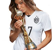 Tobin Heath - World Cup by smwgracer