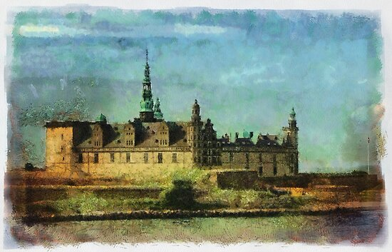 """HAMLET"" (Kronborg Castle) by © Kira Bodensted"