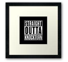 Straight Outta Knockturn Framed Print