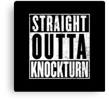 Straight Outta Knockturn Canvas Print