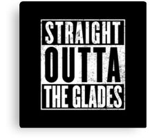 Straight Outta The Glades Canvas Print