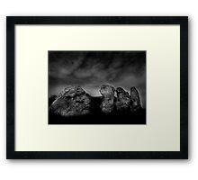 West Kennet Long Barrow #3 Framed Print