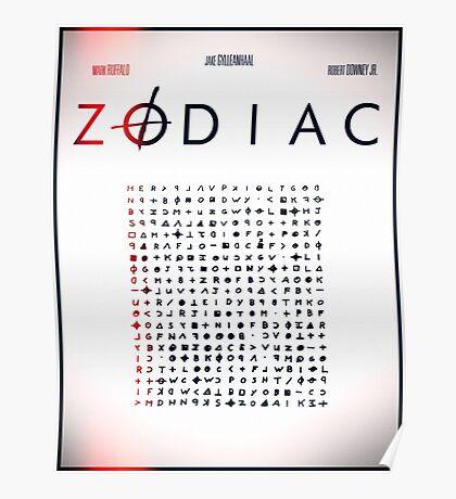 Zodiac Film Poster