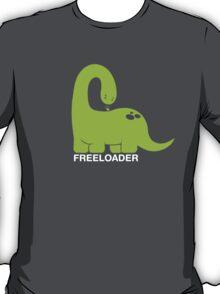 Freeloader - Dinosaur and Bird T-Shirt