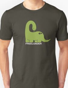Freeloader - Dinosaur and Bird T-Shirt