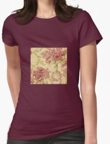 rustic,roses,floral,wall paper,shabby chic,grunge,pattern,chic T-Shirt