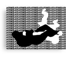 Arm Bar Mixed Martial Arts  Canvas Print