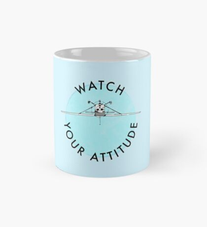 Watch Your Attitude - Inverted Cessna 172 Mug