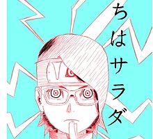 Naruto: Sarada Uchiha by quinncinati