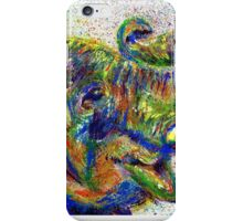 Asian Elephant Painted with a Toothbrush iPhone Case/Skin