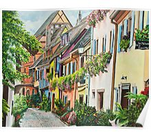 Eguisheim In Bloom Poster