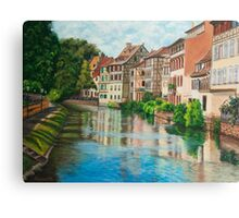 Reflections of Strasbourg Canvas Print
