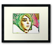 kaleidoscope belle Framed Print